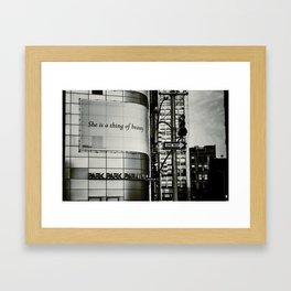 {beauty} Framed Art Print