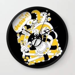 Desu~!!: Yellow Wall Clock