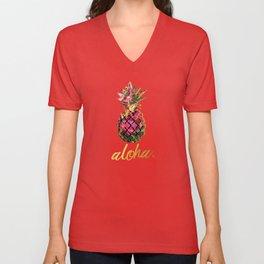 Aloha Unisex V-Neck