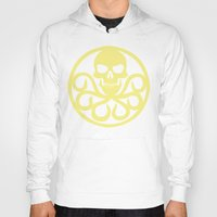 hydra Hoodies featuring Hail Hydra by Popp Art