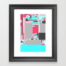 Red Mint Framed Art Print