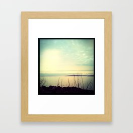 Distant Golden Gate Bridge Framed Art Print