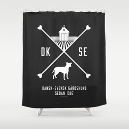 Since 1987 - white Shower Curtain