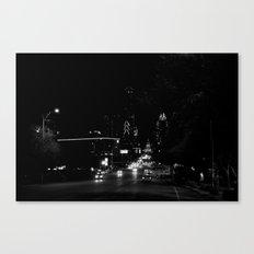 downtown austin, texas Canvas Print