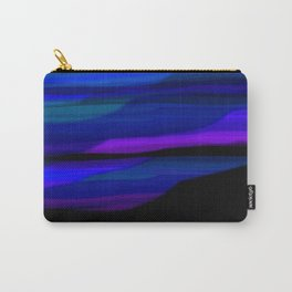 Capture the Moment Landscape in Blue Purple and Green Carry-All Pouch