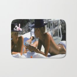 Cap d'Antibes Summer 1976 Bath Mat