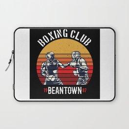 Boxing Club Beantown Gift Idea Design Motif Laptop Sleeve