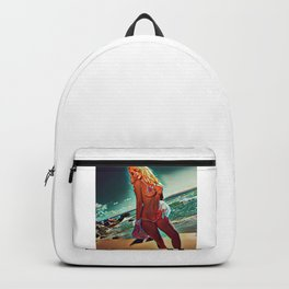 The Beach Lady Backpack