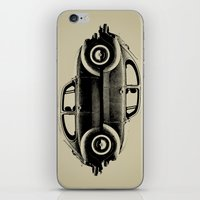 ying yang iPhone & iPod Skins featuring VW Ying and Yang by Vin Zzep