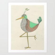 Northern Vert Pale Art Print