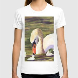 Calm of swan | Le calme du cygne T-shirt