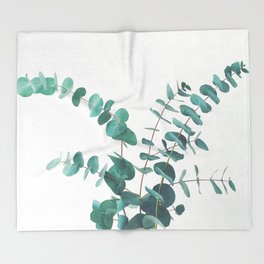 Eucalyptus II Throw Blanket