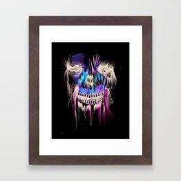 Face Illustration 5 Framed Art Print