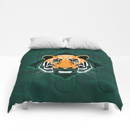 Tiger's day Comforters