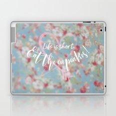 Eat the Cupcakes! Laptop & iPad Skin