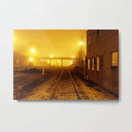 Railroads Metal Print