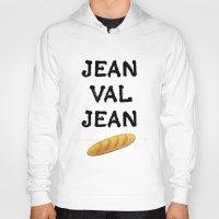 cassandra jean Hoodies featuring jean val jean by Bread Sports