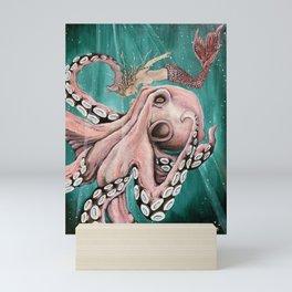 Love of beasts Mini Art Print