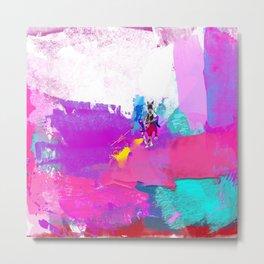 polo abstract Metal Print