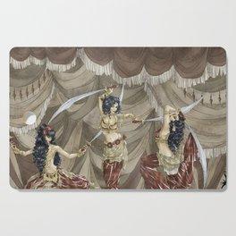 Midnight Circus: Sword Dancers Cutting Board