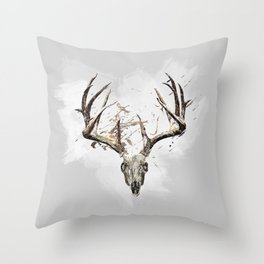King of the Forrest - Trophy Buck - Deer Throw Pillow