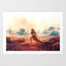 ARIES from the Dancing Zodiac Art Print