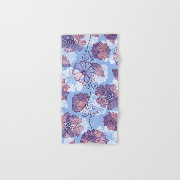 Flower Flow Hand & Bath Towel
