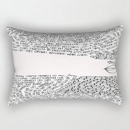 Ain't Nothin' To It  Rectangular Pillow