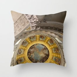 Above Napoleon Bonaparte - Look Up Series Throw Pillow