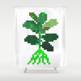 Plant Invader Shower Curtain