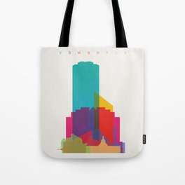 Shapes of Edmonton Tote Bag