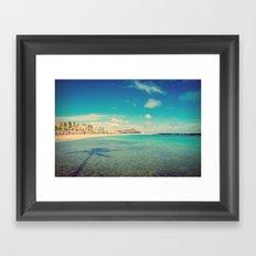 Magic Island Framed Art Print