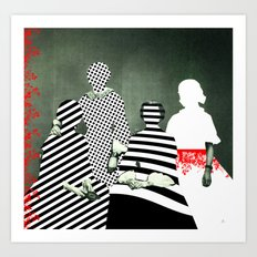 Fragmented Memories Art Print