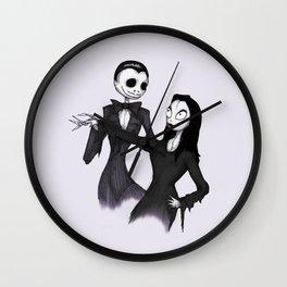Jack & Sally Addams Wall Clock