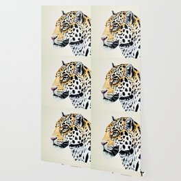 The Leopard Watercolor (Color) Wallpaper