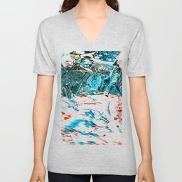 RIVERS & CRATERS Unisex V-Neck