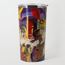 Ices by Jacob Lawrence African American Masterpiece Travel Mug