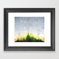 Golgotha Framed Art Print