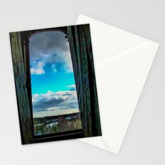 The day through the open window Stationery Cards