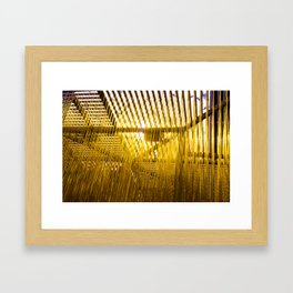 Yellow Hair Framed Art Print