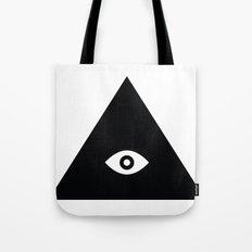 Tri-Eye Tote Bag