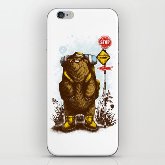 travelling 3.0 iPhone & iPod Skin