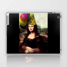 Mona Lisa Birthday Girl Laptop & iPad Skin
