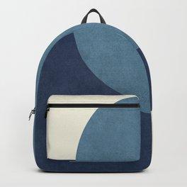 Halfmoon Colorblock - Blue Backpack