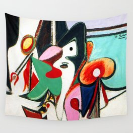 Arhsile Gorky Painting Wall Tapestry