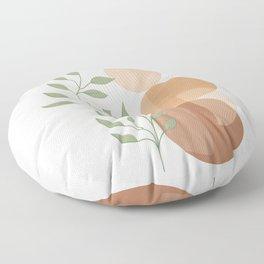 Abstract Rock Geometry 19 Floor Pillow