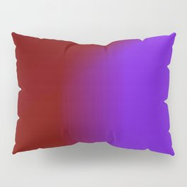Ombre in Burgundy Purple Pillow Sham