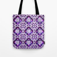 boho Tote Bags featuring Boho by Lyle Hatch