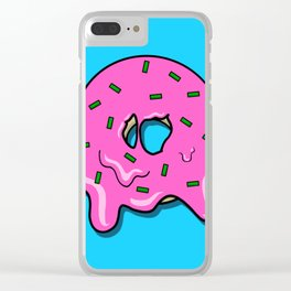 Donut time Clear iPhone Case