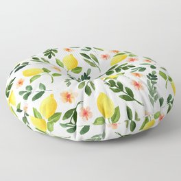 Lemon Grove Floor Pillow